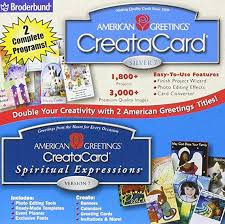American Greetings Templates Amazon Com American Greetings Creatacard Silver 7