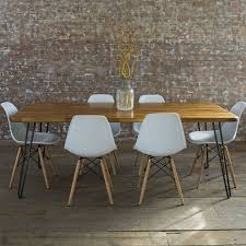 full size of office attractive mid century modern dining 9 table wood fresh and dynamic adorable
