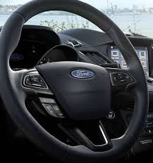 2016 ford escape interior. 2018 ford escape titanium leatherwrapped steering wheel in charcoal black 2016 interior