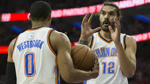Steven Adams jokes on Russell Westbrook ...