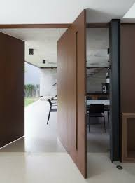 Examples Of Homes With Large Pivoting Doors CONTEMPORIST - Exterior pivot door