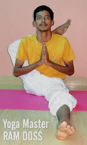 yoga teacher india yoga master ram doss of santhi yoga in