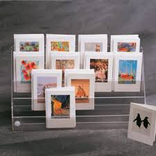 Card Display Stands Uk Postcard Holders acrylic PERSPEX acrylic display equipment 32