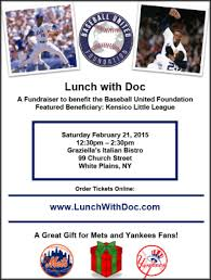Baseball United Foundation Teams Up With Doc Gooden For