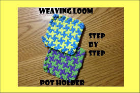 Potholder Loom Patterns New Mary's Houndstooth Potholder Weaving Loom Tutorial YouTube