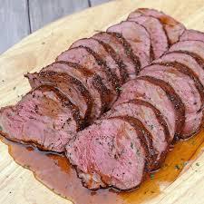 reverse seared beef tenderlion recipe