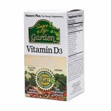 Nature's Plus <b>Source of Life Garden</b> Vitamin D3 Reviews 2020