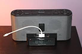 sony clock radio. sony clock radio with adapter