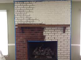 delightful decoration painted brick fireplace colors posh can you paint brick fireplace fireplace brick paint colors