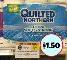 Quilted Northern Bath Tissue - Just $1.50 At Publix & There are Quilted Northern coupons to use for the sale at Publix. If you  need toilet paper, be sure to grab your coupons and get the packages as low  as ... Adamdwight.com