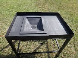 homemade coal forge plans source searchpp com coal forge plans