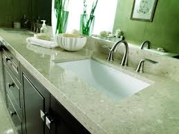 choosing bathroom countertops