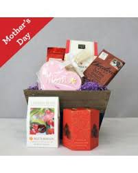 mother s day cookies coffee gift crate