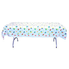plastic table cover balloon print plastic table cover black plastic table covers round