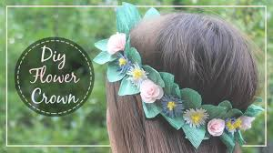 Paper Flower Headbands How To Make A Paper Flower Crown Youtube