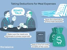 deducting meals as business expenses