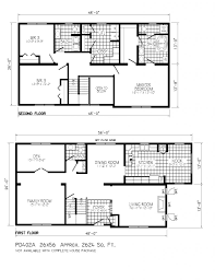 two story tiny house floor plan