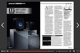 kef ls50 wireless speakers. full group test online - click to read. kef ls50 wireless kef ls50 speakers s