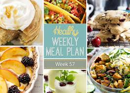 Weekly Meal Planning For One Healthy Weekly Meal Plan 57 Yummy Healthy Easy