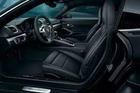 porsche panamera black interior. 2017 porsche cayman black edition interior features panamera