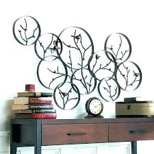 metal wall art decor canada kitchen for decorative kids room astounding outside