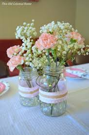 Decorating Mason Jars For Baby Shower This Old Colonial Home Filling our house with love and a lot of DIY 53