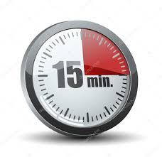 15 Minutes Timer Stock Vector Yuriy_vlasenko 47730841