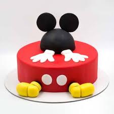 mickey mouse 3d fondant cake 3 5 kg