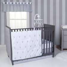 trend lab stag head 3 piece crib bedding set