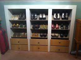 Build In Shoe Cabinet Built In Shoe Wall Ikea Hackers Ikea Hackers