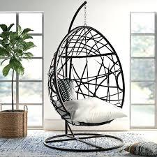 wicker swing chair basket cover
