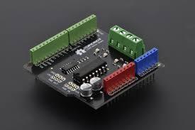 Robot Parts DRI0009 DFRobot 2x2A DC <b>Motor Shield for</b> Arduino ...
