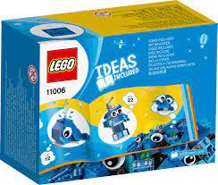Đồ Chơi Lắp Ghép LEGO Classic Hộp Lắp Ráp Sáng Tạo Xanh Dương 11006 (52 Chi  Tiết)
