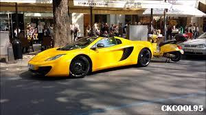 mclaren mp4 12c spider yellow. mclaren mp4 12c spider yellow youtube