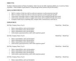 Resume Template Unique Resume Template Libreoffice Best Sample