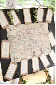 World Map Wedding Seating Chart 17 Creative Wedding Table Plan Ideas From Pinterest
