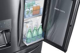 samsung black stainless fridge. Samsung RF28JBEDBSG - ShowCase Door Black Stainless Fridge F