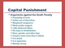 argument for capital punishment essay words bartleby argue against capital punishment essay