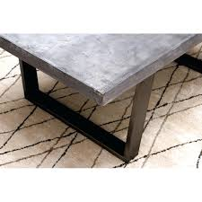 wood and concrete coffee table extra large