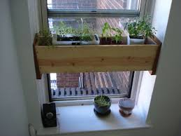 Picture of Herb planter box for the kitchen -- easy install