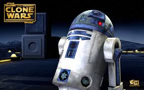 desktop wallpaper picture of the droid r2d2 from the clone wars series