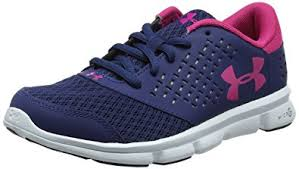 under armour basketball shoes girls. under armour girls ua ggs micro g rave rn training running shoes, blue (blackout basketball shoes