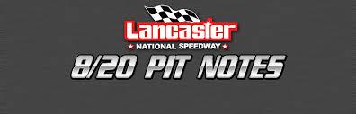 Speedway News - Lancaster Speedway