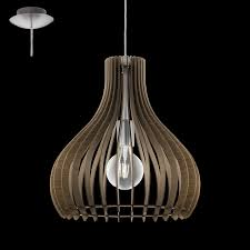 Shades Of Light Promo Code Eglo Lighting 96259 Tindori Modern Brown Wood Shade 1