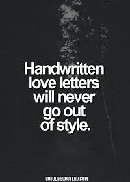 Love Letter Quote