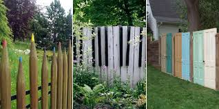 Backyard Fence Design Inspiration 48 Unique And Creative DIY Fence Design Ideas