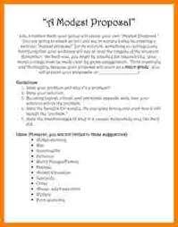 ideas for a modest proposal essay proposal template  ideas for a modest proposal essay 65a347b5becd012dce5e56c08265c184 jpg