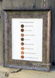 penny diy projects handmade anniversary gifts seven year anniversary gift husband anniversary gifts