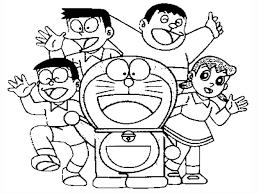 Tổng hợp các bức tranh tô màu Nobita đẹp nhất - byhien