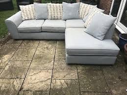 duck egg blue dfs corner sofa 102 00
